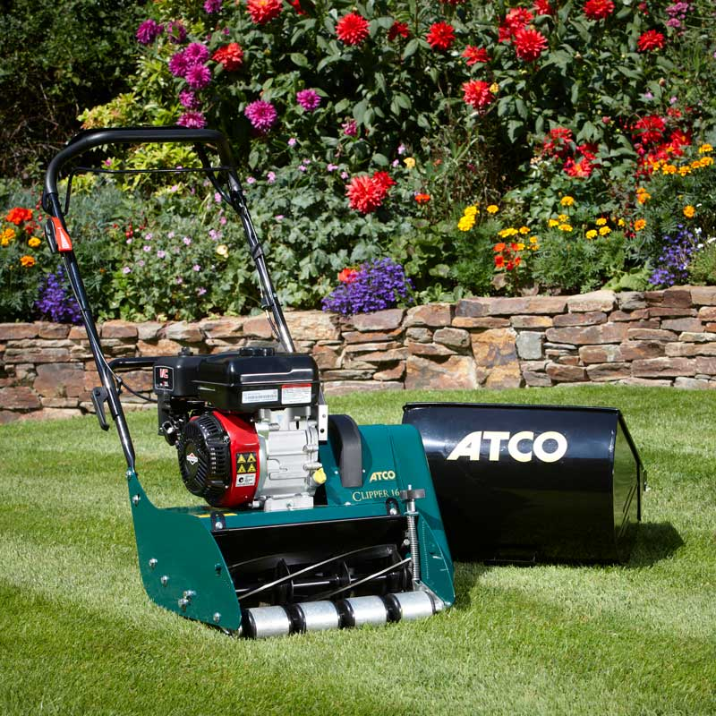 Atco Clipper 16 Petrol Cylinder Lawnmower Buy Online At