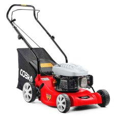 Cobra M41C Push Petrol Lawnmower 41cm
